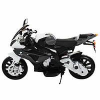 Мотоцикл JT 528E-11,  2 мотора, аккум 12V/7AH, свет, звук, колеса EVA, 105-68-51см, cерый,