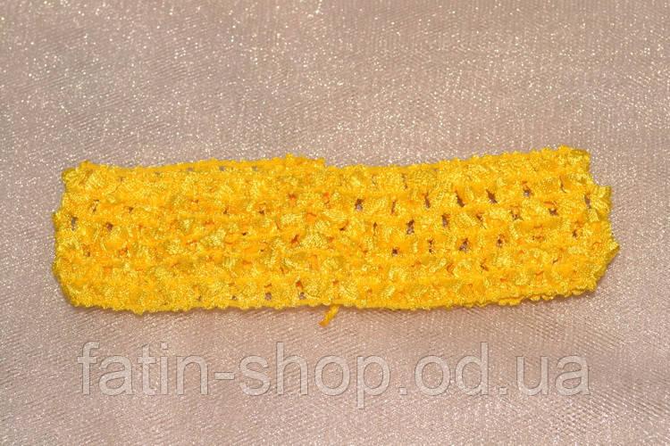 Повязка ту-ту  цвет Желтый