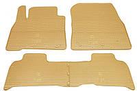 Резиновые коврики для Toyota Land Cruiser 200 2007- (STINGRAY)