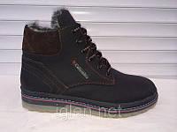 Мужские ботинки Columbia черно-коричневые