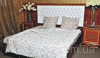 Двуспальный комплект постельного белья Завиток штриховой