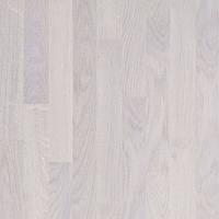 Паркетная доска Grabo/Prima Floor Дуб Ледяной Белый 3х полосный