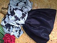 Платье Беби Долл 1786 черный+белый 42р