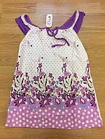 Пижамы детские, Ночнушки для девочек до 9 лет На бретельках