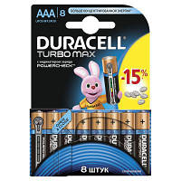Батарейка Duracell LR03 TURBO MAX MN2400 * 8 (5000394011229 / 81480371)