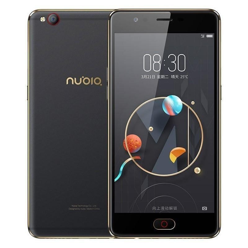 """Смартфон ZTE Nubia M2 Lite 4/32Gb Black, 8 ядер, 13/16Мп, 5.5"""" IPS, 4G, 3000 мАч"""