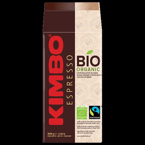Кофе в зернах Kimbo Flo Bio Organic 1 кг