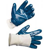 Перчатки  МБС нитриловые неполный облив