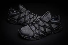 Мужские кроссовки  Under Armour Charged Phenom 2 черно-серые