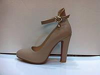 Туфли женские в двух цветах с 33 по 38 размер код 617