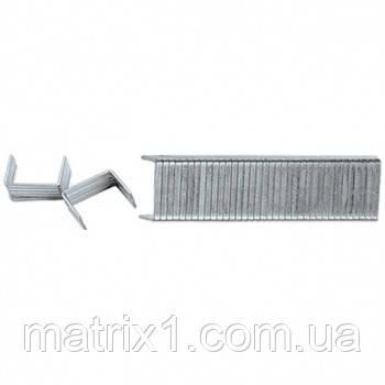 Скобы, 10 мм, для мебельного степлера, закаленные, тип 140, 1000 шт.// MTX MASTER