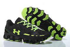 Мужские кроссовки Under Armour UA Scorpio черно-салатовые