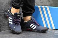 Мужские кроссовки Adidas Climaproof темно синие 3044