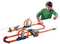 Meга-трек Hot Wheels  Двойное ускорение - Хот Вилс Track Builder Total Turbo BGX89