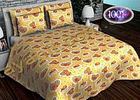 Детский комплект постельного белья в кроватку