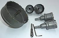 Коронка Універсальна по металу 70 MM з побідитовими напайку, фото 1