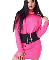 Женская вязаная туника-платье (1040 br)