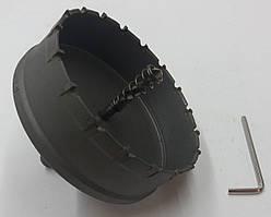 Коронка Универсальная по металлу 90 MM с победитовыми напайкой