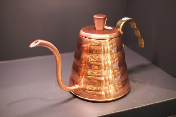 Чайник Hario из меди для заваривания кофе, фото 1