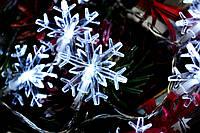 """Новогодняя гирлянда на батарейках """"Снежинка игривая"""", фото 1"""