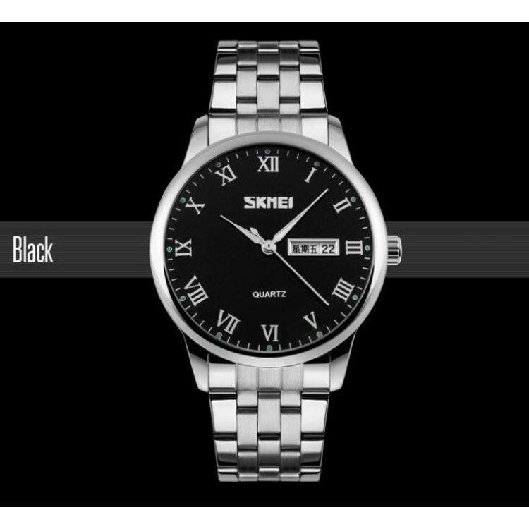 Мужские наручные часы SKMEI 9110 черный, фото 1