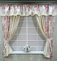 """Кухонный набор штор """"Цветочный Сад"""", фото 2"""