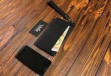 e75ab0a63436 Кошелек-чехол для телефона из кожи ручной работы VOILE vl-lw3-kblk ...