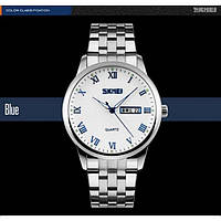 Мужские наручные часы SKMEI 9110 синий, фото 1