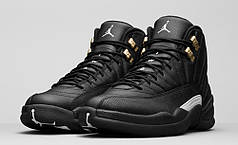 Мужские кроссовки NIke Air Jordan 12 Retro черные