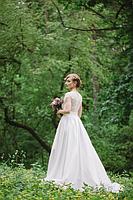Свадебное платье А-силуэта в Украине