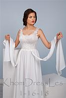 Платье в греческом стиле   с шлейфом