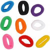 Резиночки для волос 100 штук SD7195 1шт.