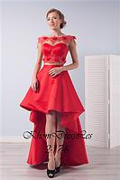Атласное платье-трансормер (топ и юбка)