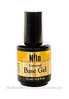 Гель базовый, универсальный Base Gel Nila (15г)