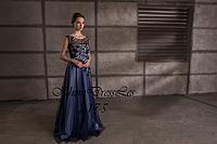 Вечернее платье из евросетки