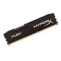 МОДУЛЬ ПАМЯТИ ДЛЯ КОМПЬЮТЕРА DDR3 8GB 1600 MHZ HYPERX FURY BLACK KINGSTON (HX316C10FB/8)