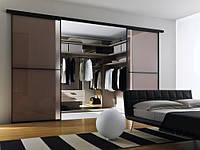 Навесная перегородка для гардеробной комнаты