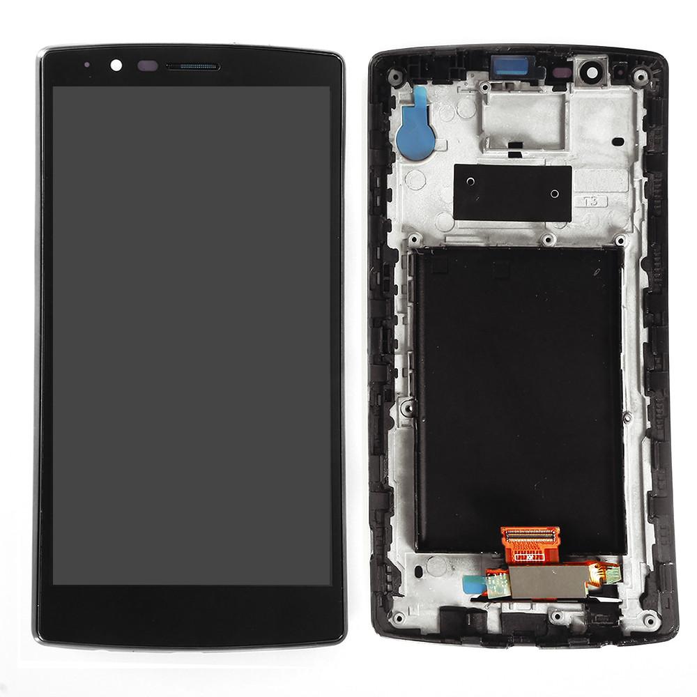 Дисплейный модуль для мобильных телефонов LG G4 G4 LS991, черный, original (PRC)