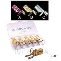Формы для ногтей многоразовые (5шт.)  RF-00