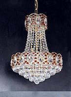 Люстра хрустальная (8 ламп)