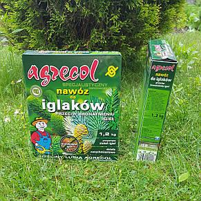 Удобрение Agrecol для ХВОЙНЫХ растений от пожелтения хвои 1,2кг (гранулированное), фото 3