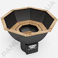 Чан железный для купания на дровах на 3-5 человек