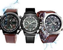 Часы наручные мужские электронные, кварцевые, спортивные