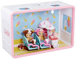 Twozies Младенцы тузис набор Тележка мороженого Two Cool Ice Cream Cart