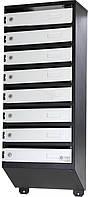 Почтовый ящик 39x95x20 см 8 секцій