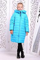 Детское зимнее пальто на подростка девочку Ангел на рост от 122см до 146см, фото 1