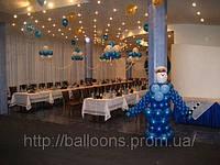 Оформление корпоративов воздушными шарами днепропетровск, фото 1