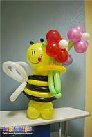 Цветы из воздушных шаров , фото 1