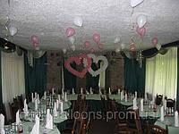 Свадебное украшение воздушными шарами, фото 1