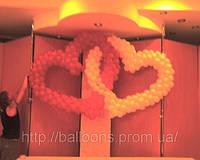 Украшение воздушными шарами для свадеб, фото 1